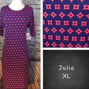 NWT LuLaRoe Julia Pencil Dress XL